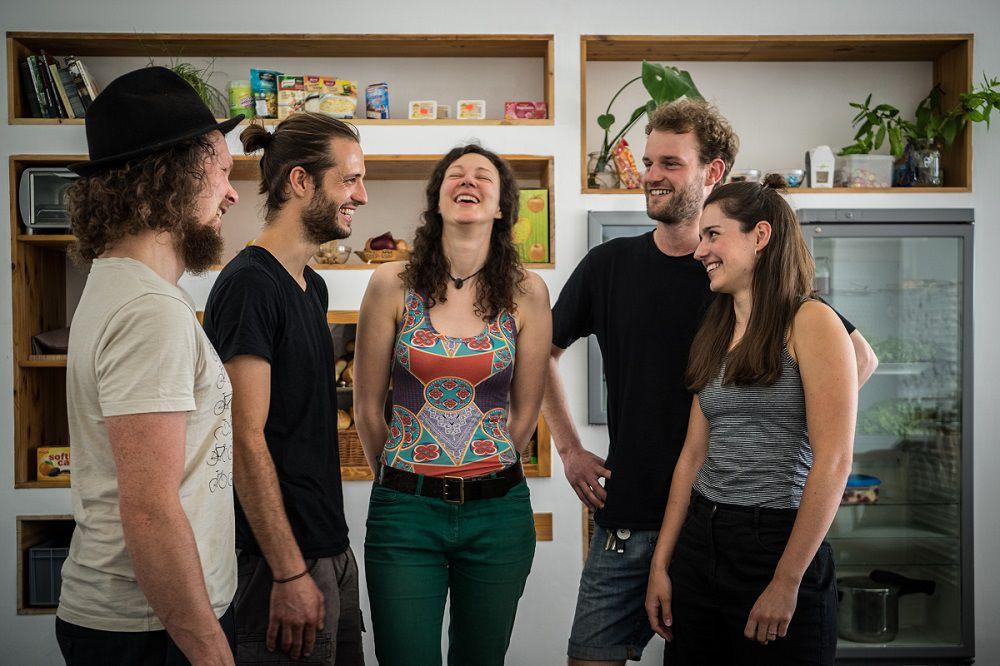 Das Team von Café Raupe Immersatt.