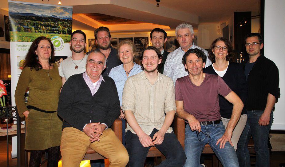 Das Team der Öko-Modellregion Waginger See - Rupertwinkel.