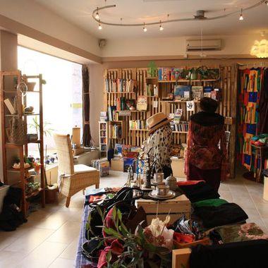 Der Weitergeber-Laden, der von der Transition-Town Initiative IngolSTADT ins Leben gerufen wurde.