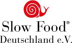 Das Logo vom Slow-Food Deutschland e.V. zeigt eine rote Schnecke.