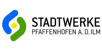 Buntes Logo der Stadtwerke Pfaffenhofen