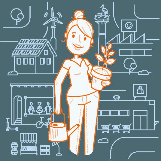 Foodsharing, Repair Cafés, Solidarische Landwirtschaft und mehr.